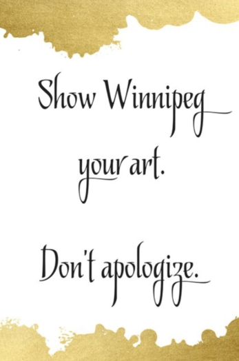 dont apologize
